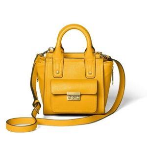 NWT 3.1 Phillip Lim Golden Yellow Mini Satchel